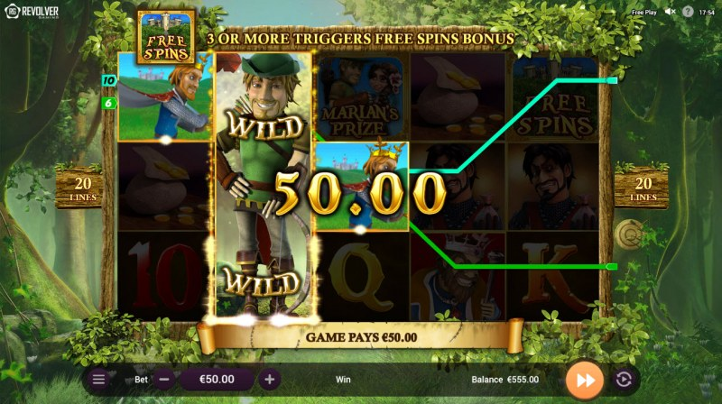 Robin Hood and his Merry Wins :: Three of a kind