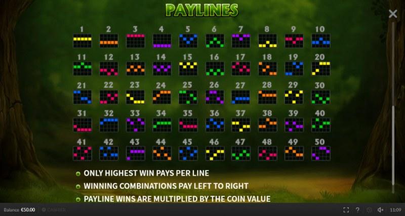 Robin Hood Mega Stacks :: Paylines 1-50