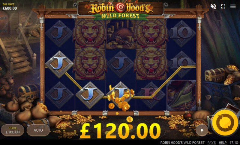 Robin Hood's Wild Forest :: 3 of a kind win
