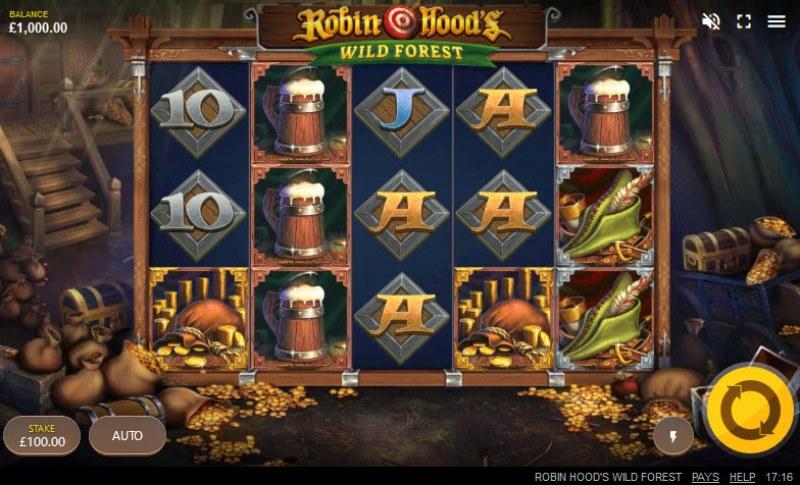 Robin Hood's Wild Forest :: Main Game Board