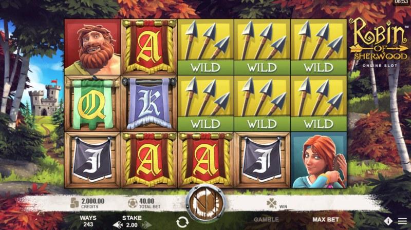 Robin of Sherwood :: Main Game Board