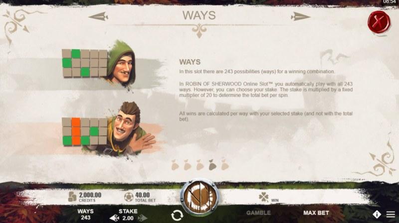 Robin of Sherwood :: 243 Ways to Win
