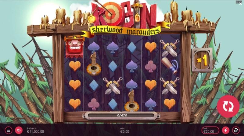 Robin Sherwood Marauders :: Main Game Board
