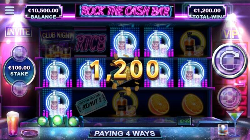 Rock The Cash Bar :: Big Win