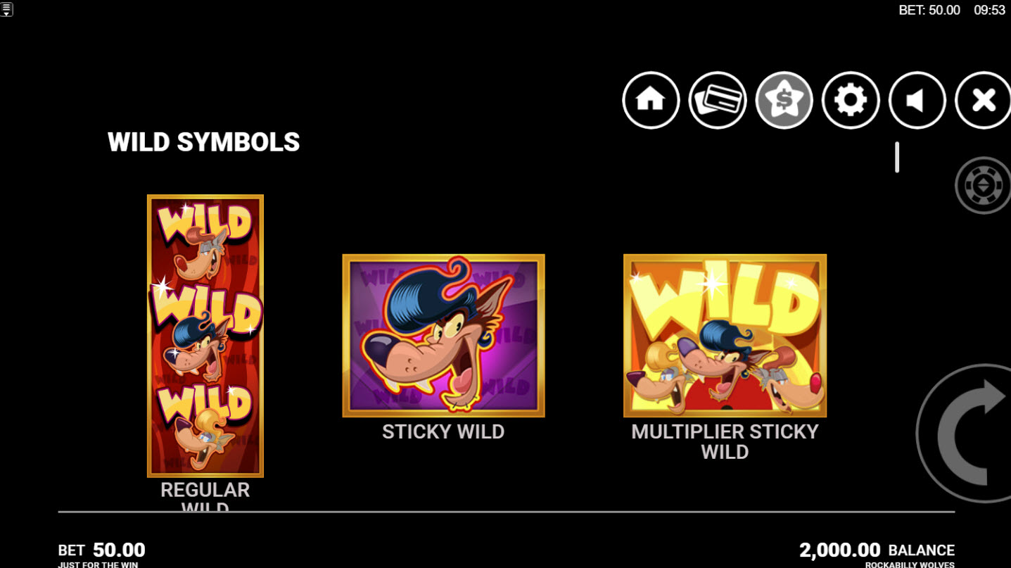 Play slots at Boo Casino: Boo Casino featuring the Video Slots Rockabilly Wolves with a maximum payout of $320,550