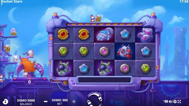 Rocket Star :: Main Game Board