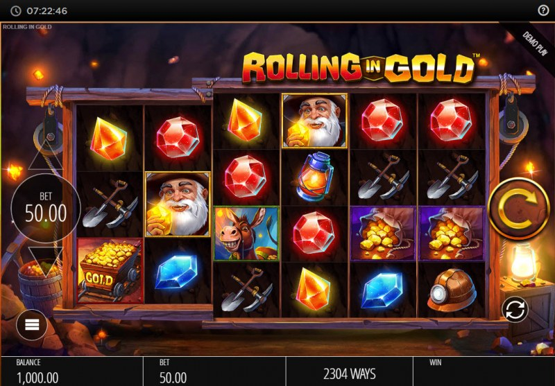 Rolling In Gold :: Base Game Screen