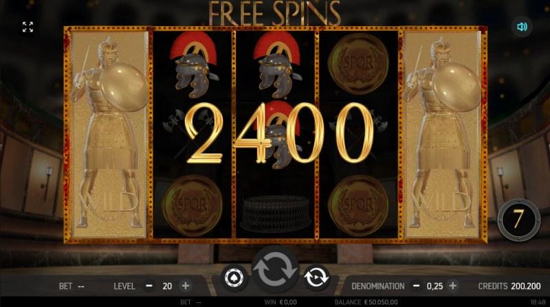 Roman Adventure :: Multiple winning combinations