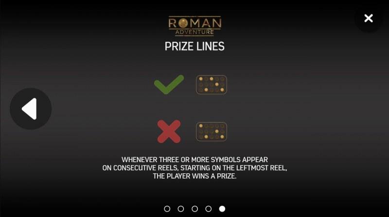 Roman Adventure :: 243 Ways to Win