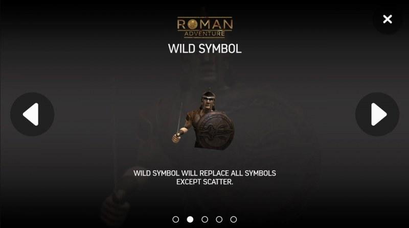 Roman Adventure :: Wild Symbols Rules