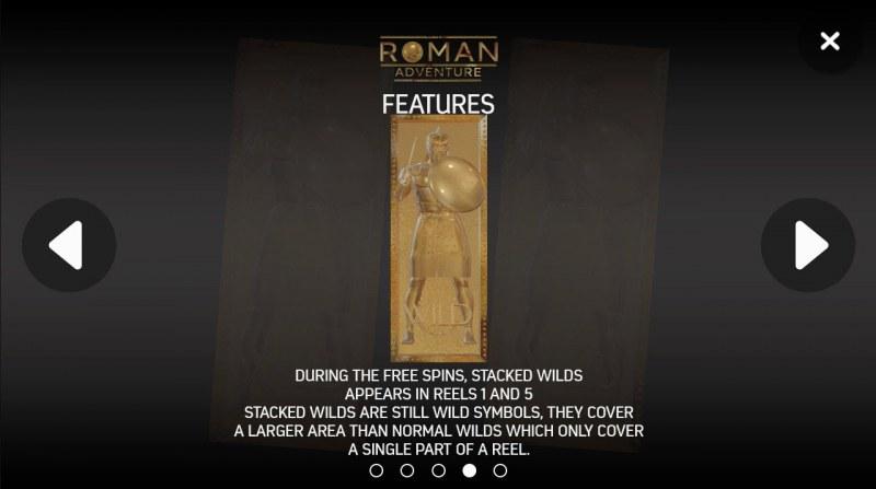 Roman Adventure :: Feature Rules