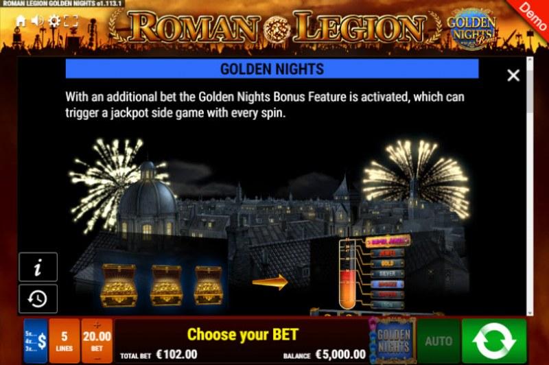 Roman Legion Golden Nights Bonus :: Golden Nights Bonus