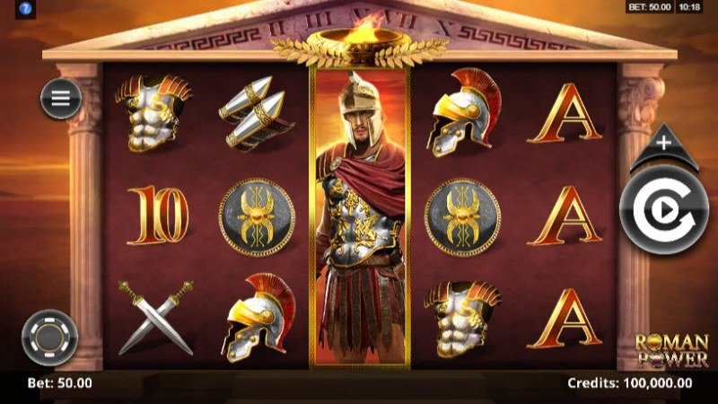 Play slots at HippoZino: HippoZino featuring the Video Slots Roman Power with a maximum payout of $20,000