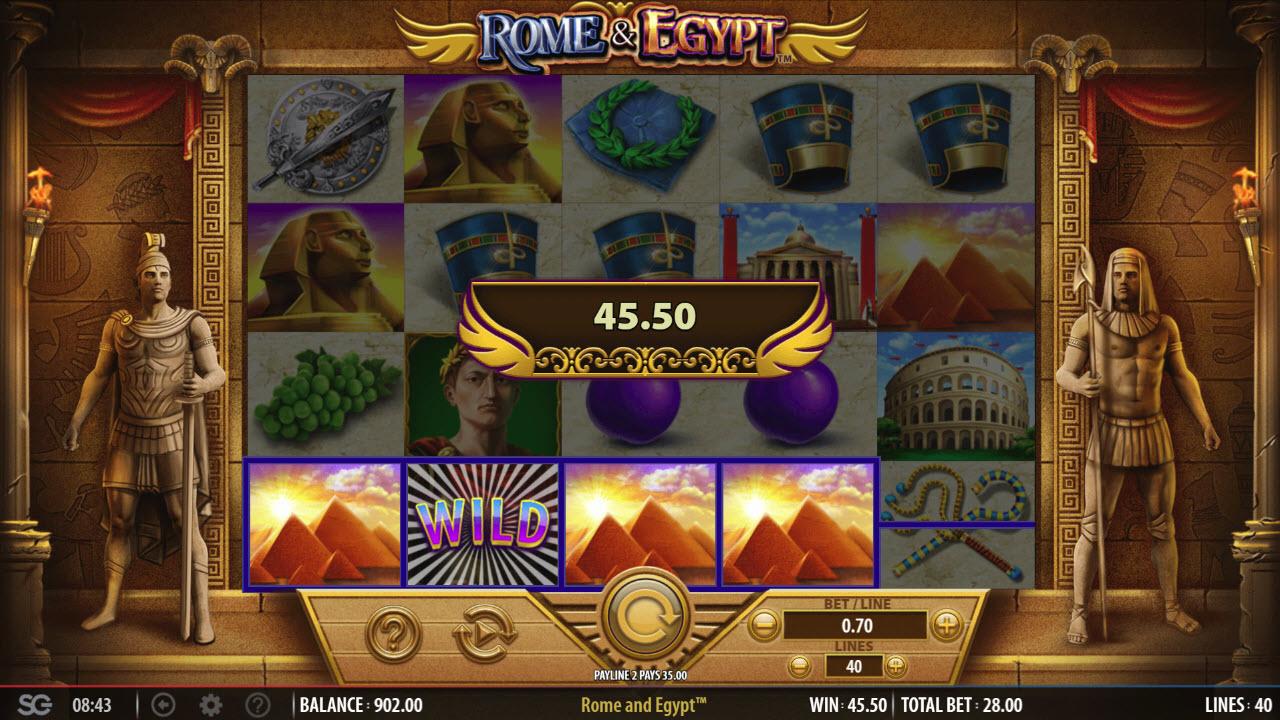 Rome & Egypt :: Four of a kind