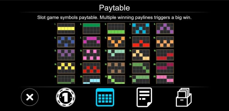 Rome Warrior :: Paylines 1-25