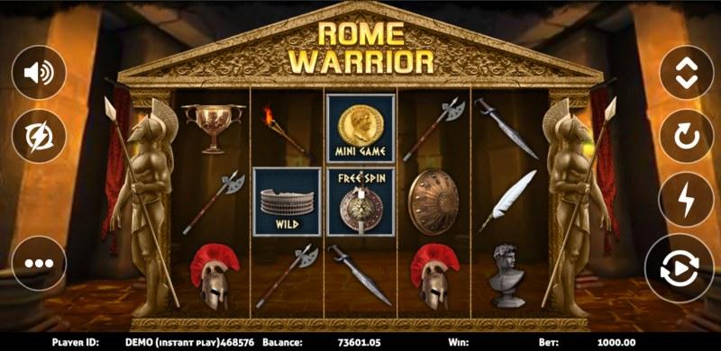 Rome Warrior :: Main Game Board