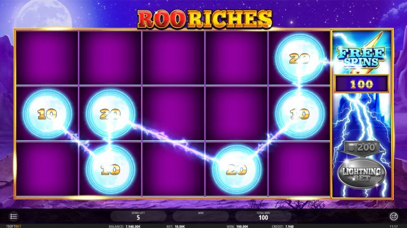 Roo Riches :: Multiple winning combinations