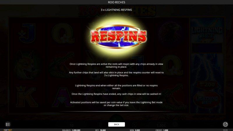 Roo Riches :: Respins