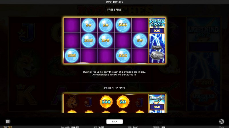 Roo Riches :: Free Spins Rules
