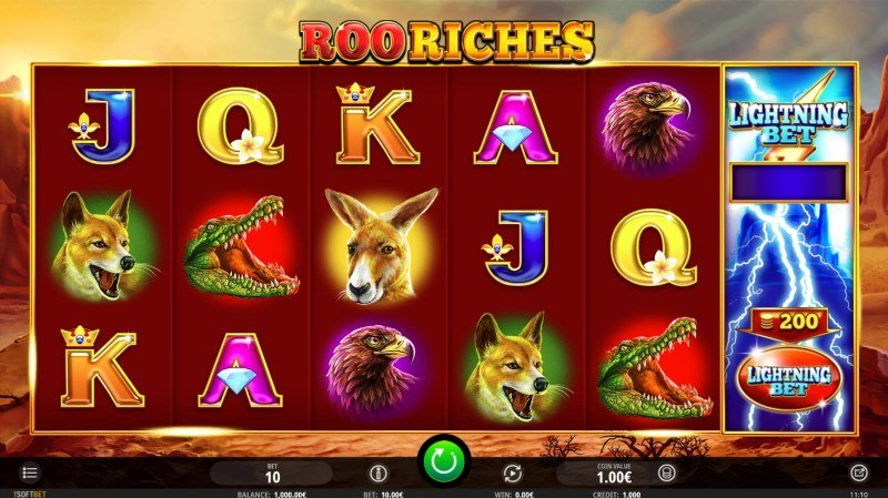 Roo Riches :: Main Game Board