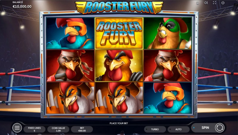 Rooster Fury :: Base Game Screen