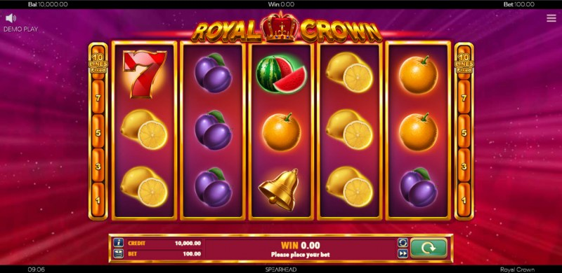 Royal Crown :: Main Game Board