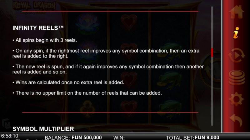 Royal Dragon Infinity Reels :: Infinity Reels