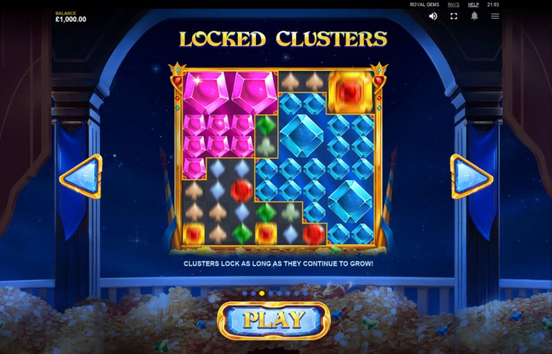Royal Gems :: Locked Clusters