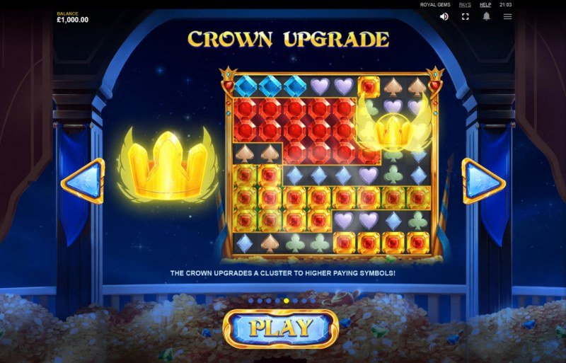 Royal Gems :: Crown Upgrade