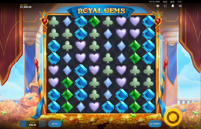 Royal Gems :: Main Game Board