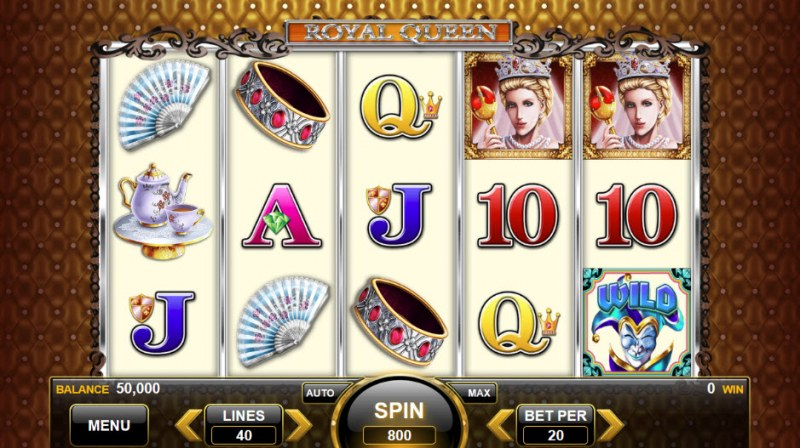 Royal Queen :: Main Game Board