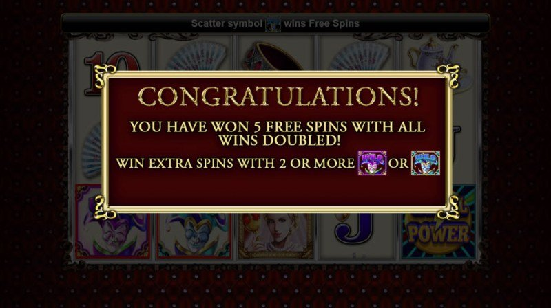 Royal Queen :: 5 Free Spins Awarded