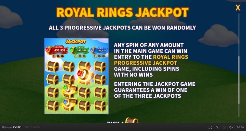 Royal Rings :: Royal Rings Jackpot