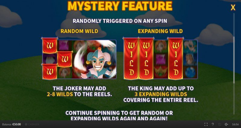 Royal Rings :: Mystery Feature