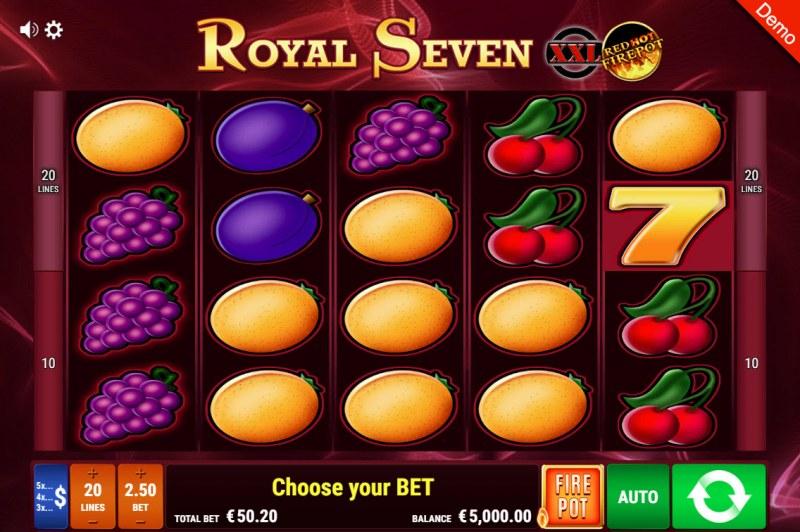 Royal Seven XXL Red Hot Fire Pot :: Main Game Board