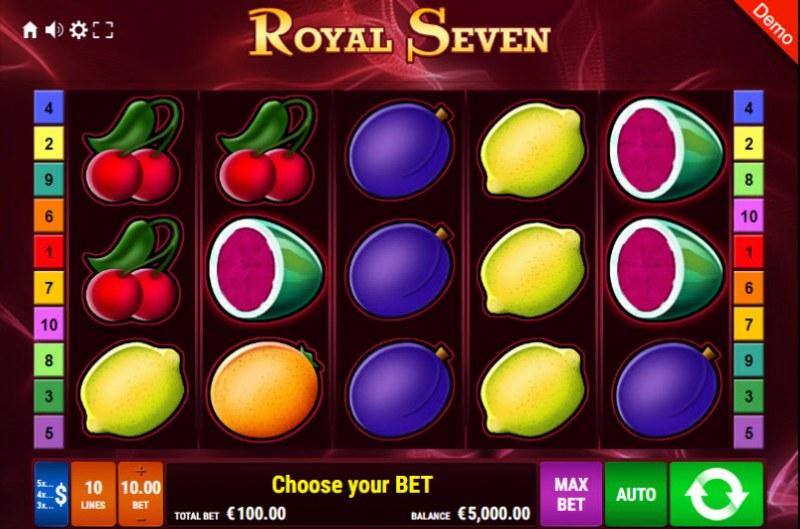 Royal Seven :: Main Game Board