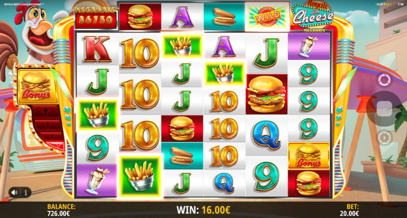 Royale With Cheese Megaways :: A five of a kind win