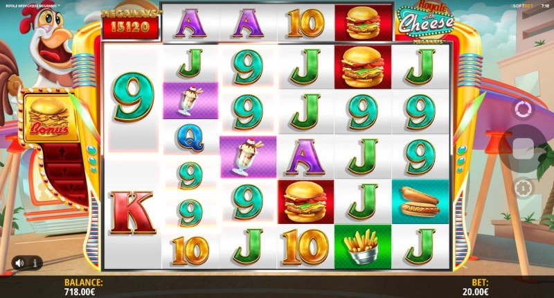 Royale With Cheese Megaways :: Multiple winning combinations
