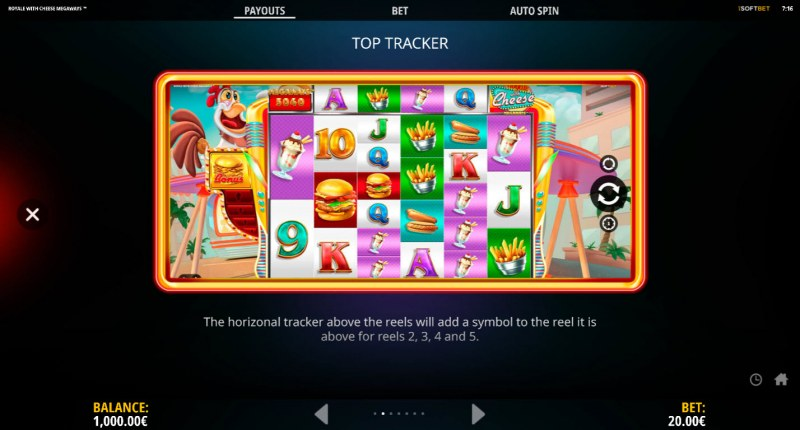 Royale With Cheese Megaways :: Top Tracker