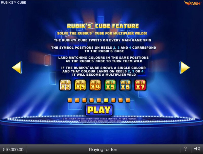 Rubik's Cube :: Feature Rules