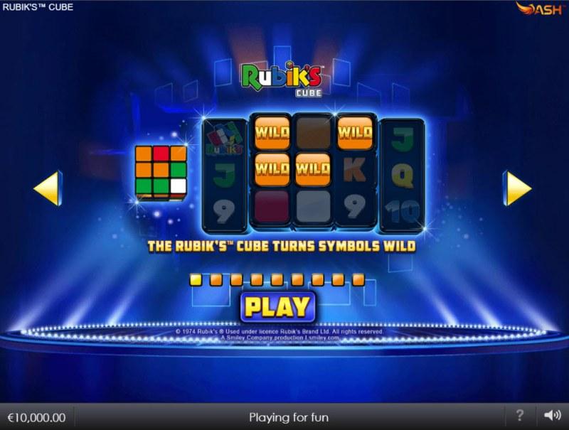Rubik's Cube :: Wild Symbol Rules