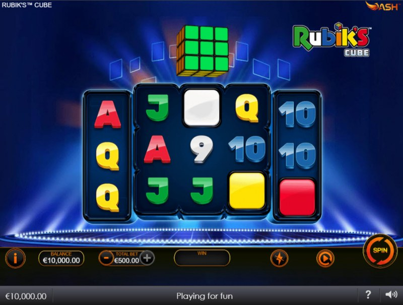 Rubik's Cube :: Main Game Board