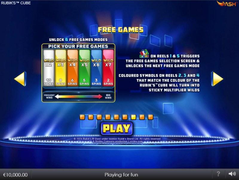 Rubik's Cube :: Free Game Rules