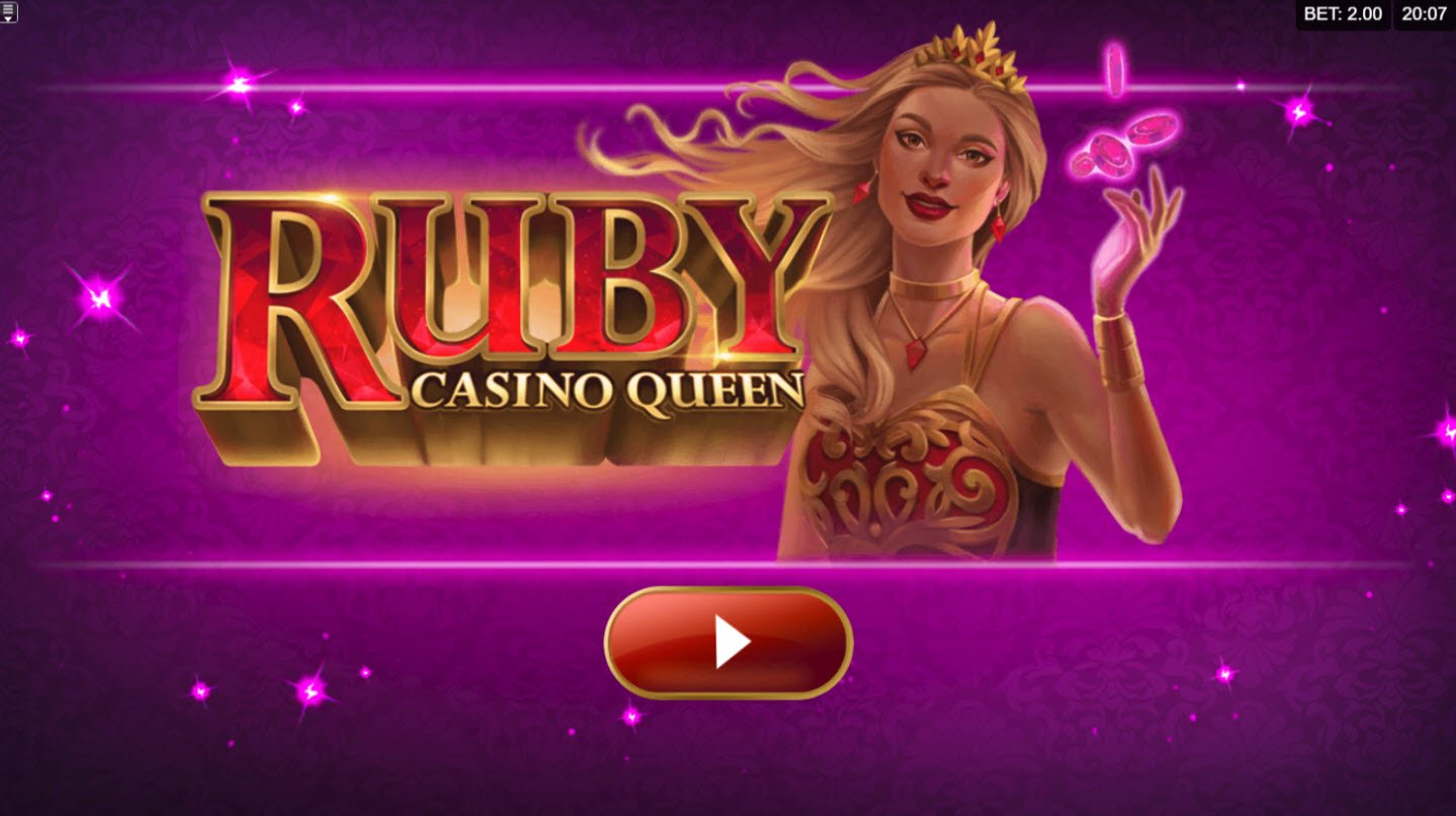 Play slots at Bet At Casino: Bet At Casino featuring the Video Slots Ruby Casino Queen with a maximum payout of $700,000