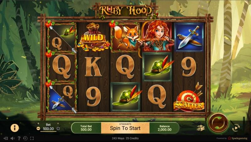Ruby Hood :: Base Game Screen