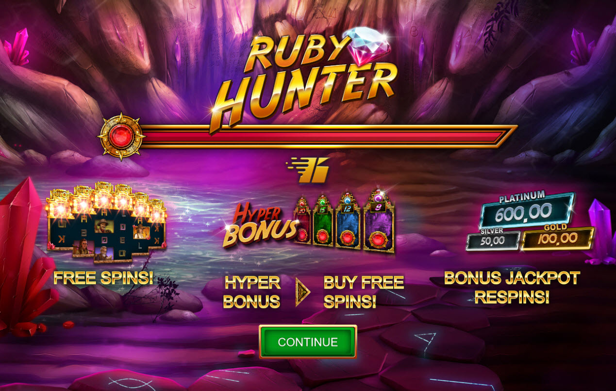 Play slots at 1xBit Casino: 1xBit Casino featuring the Video Slots Ruby Hunter with a maximum payout of $2,164,800