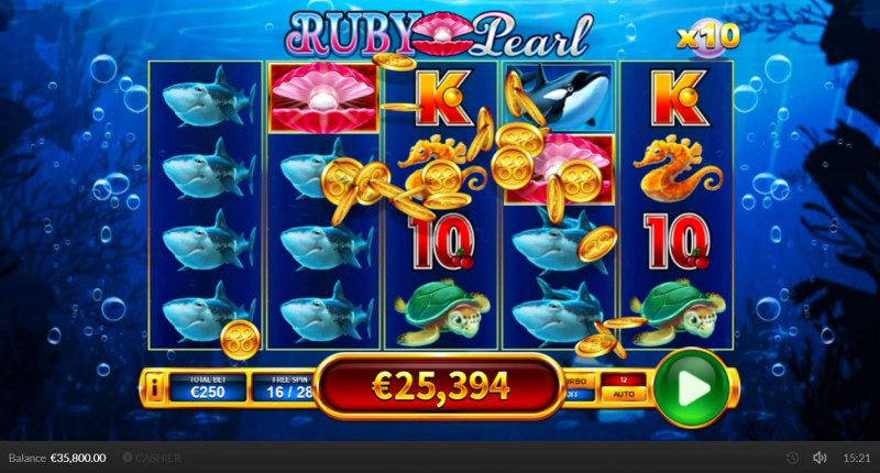 Ruby Pearl :: Multiple winning paylines