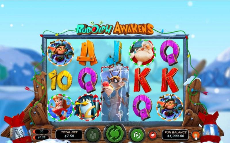 Rudolph Awakens :: Main Game Board