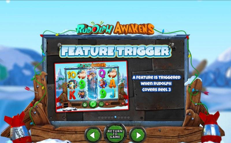 Rudolph Awakens :: Feature Trigger