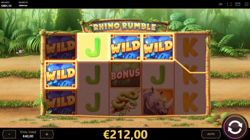 Rumble Rhino :: Four of a kind